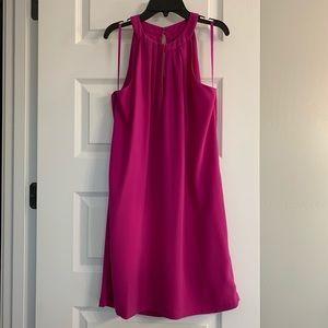 BCBGMazAzria Trystan Magenta Dress Small